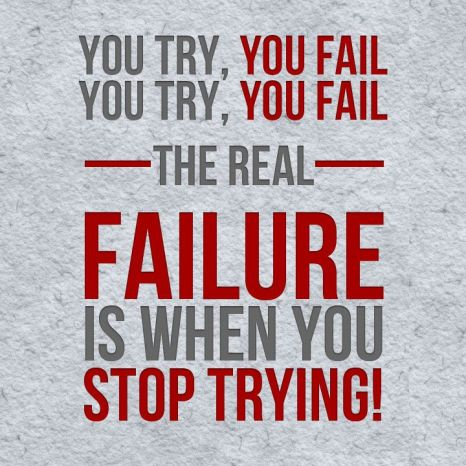 failure try