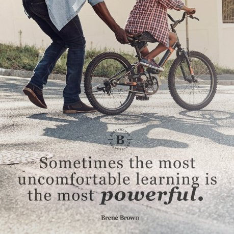 learning uncomfortable